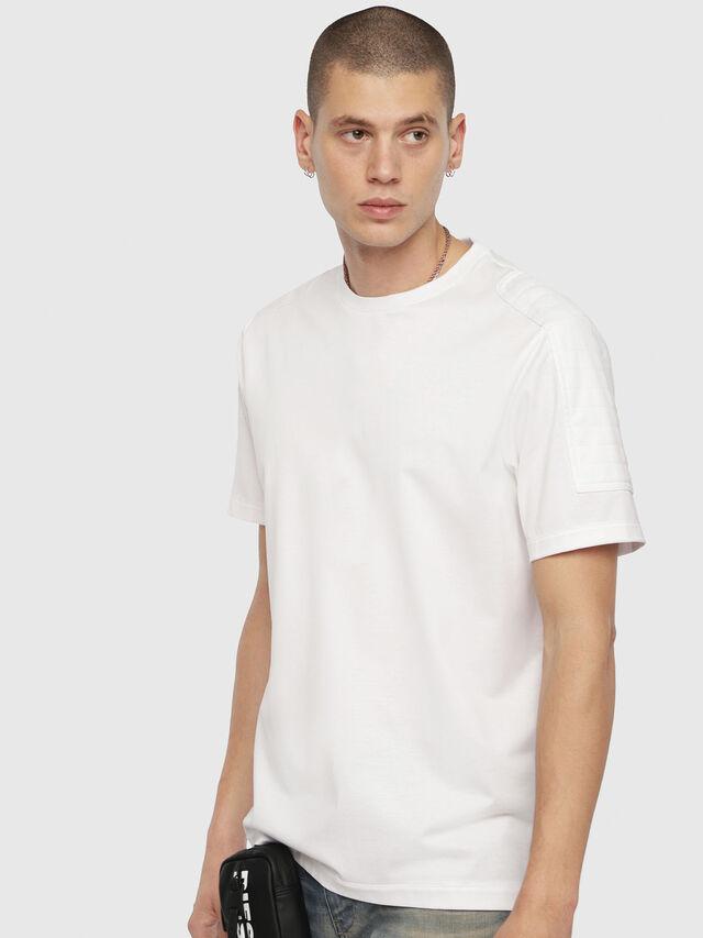 Diesel - T-SADAO, White - T-Shirts - Image 1