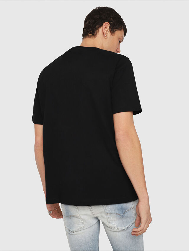 Diesel - T-JUST-Y3, Black - T-Shirts - Image 2