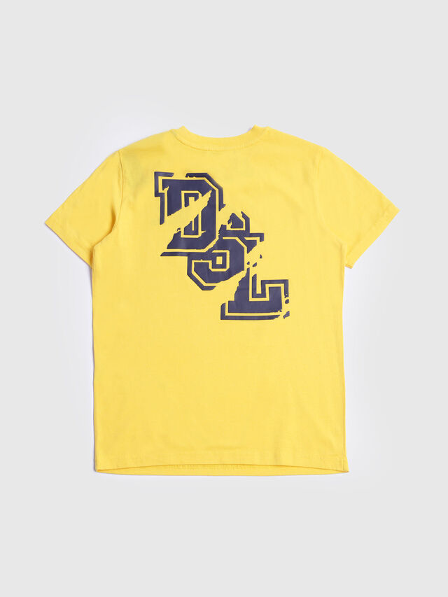 Diesel - TIXTO, Yellow - T-shirts and Tops - Image 2