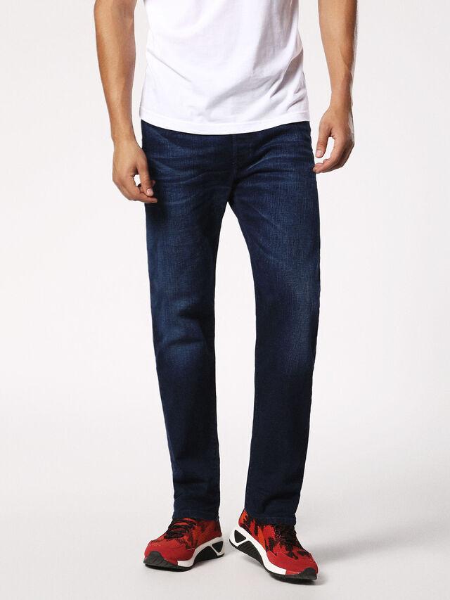 Diesel - Thytan 084HJ, Dark Blue - Jeans - Image 1
