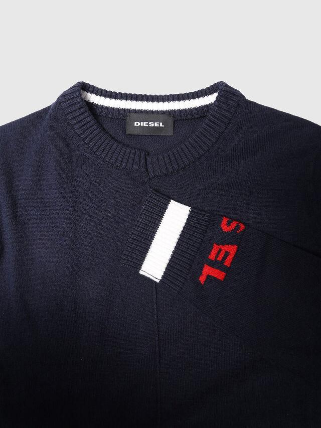 Diesel - KTOP, Blue - Sweaters - Image 3