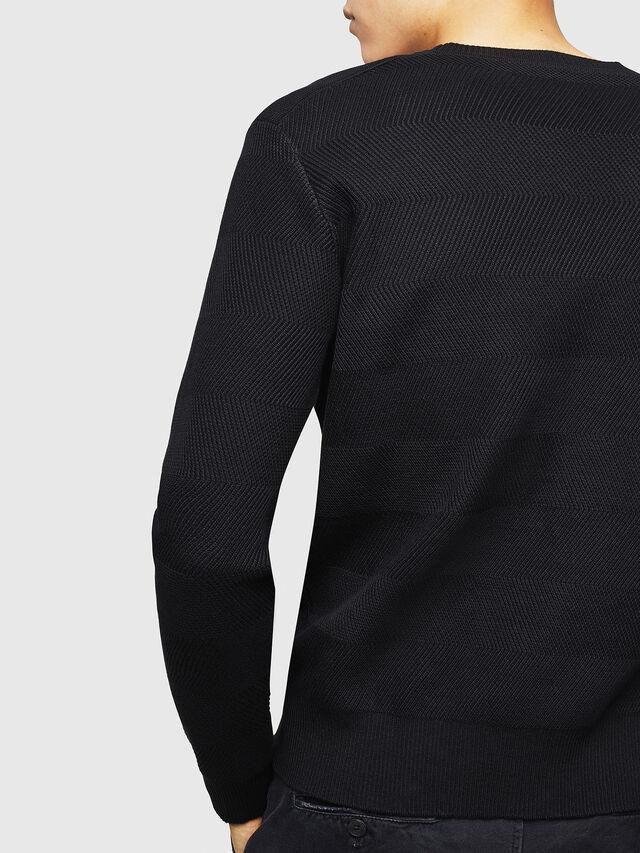Diesel - K-STLE, Black - Sweaters - Image 4