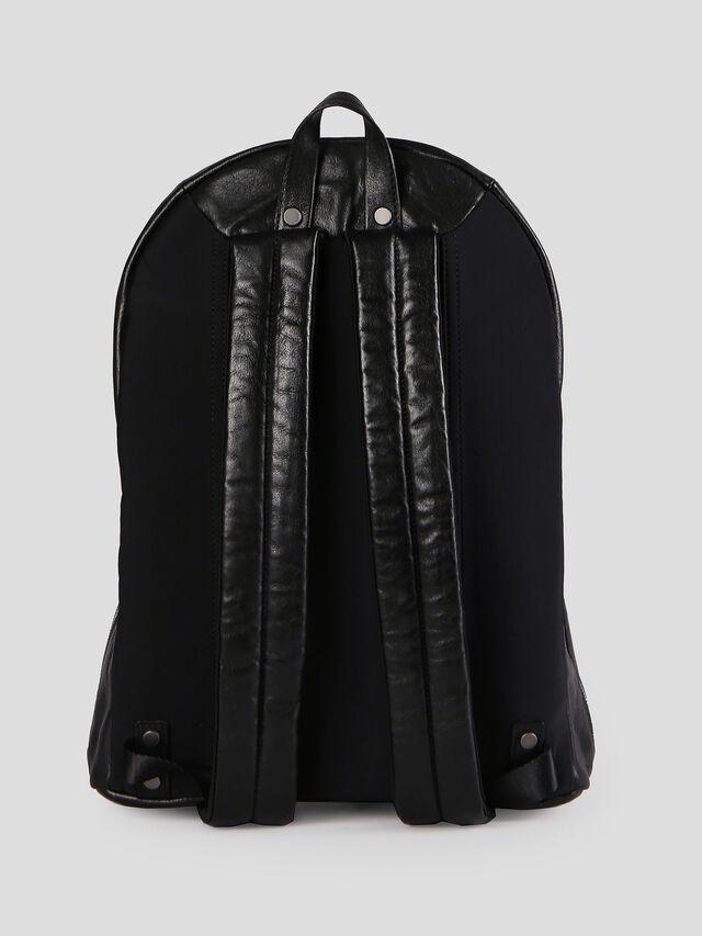 Diesel - L-L4BACK, Black - Backpacks - Image 2