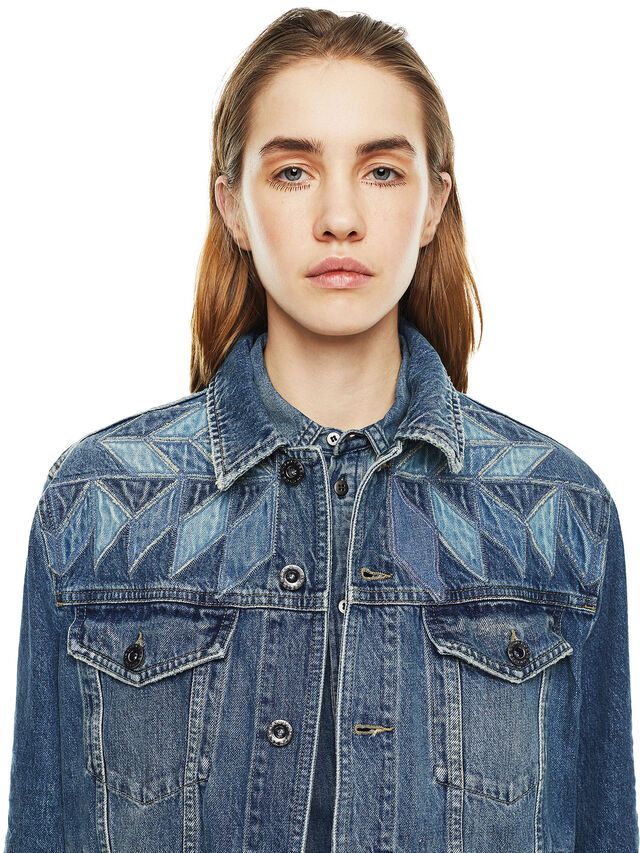 Diesel - WONDERY, Blue Jeans - Jackets - Image 3