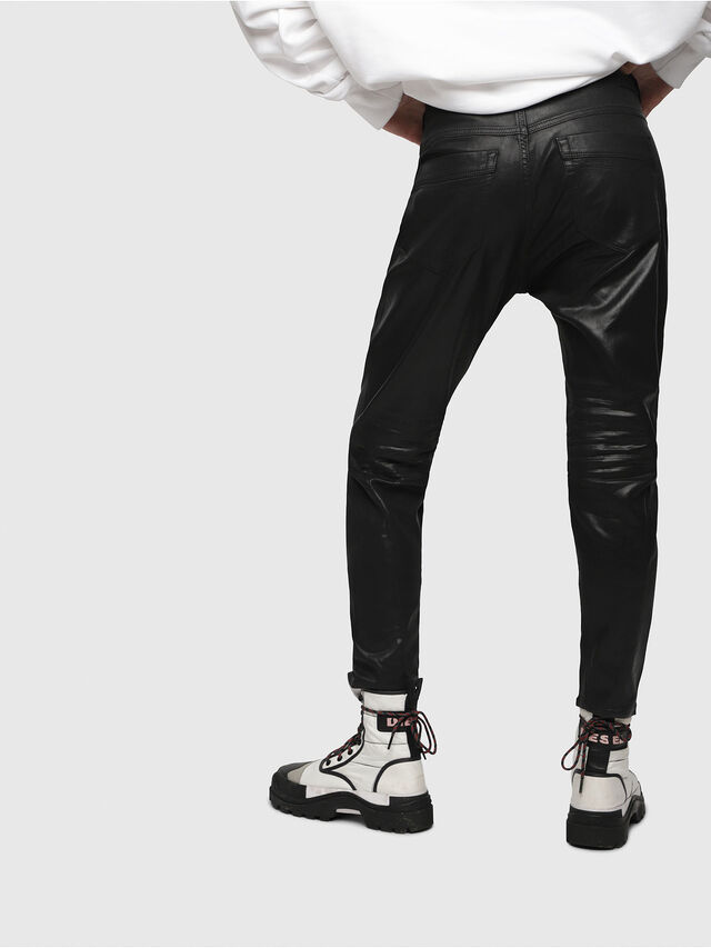 Diesel - Fayza JoggJeans 069DU, Black/Dark Grey - Jeans - Image 2