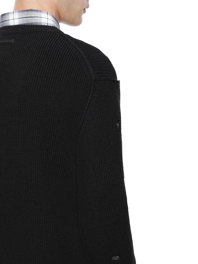 Diesel - KABUCO, Black - Sweaters - Image 7