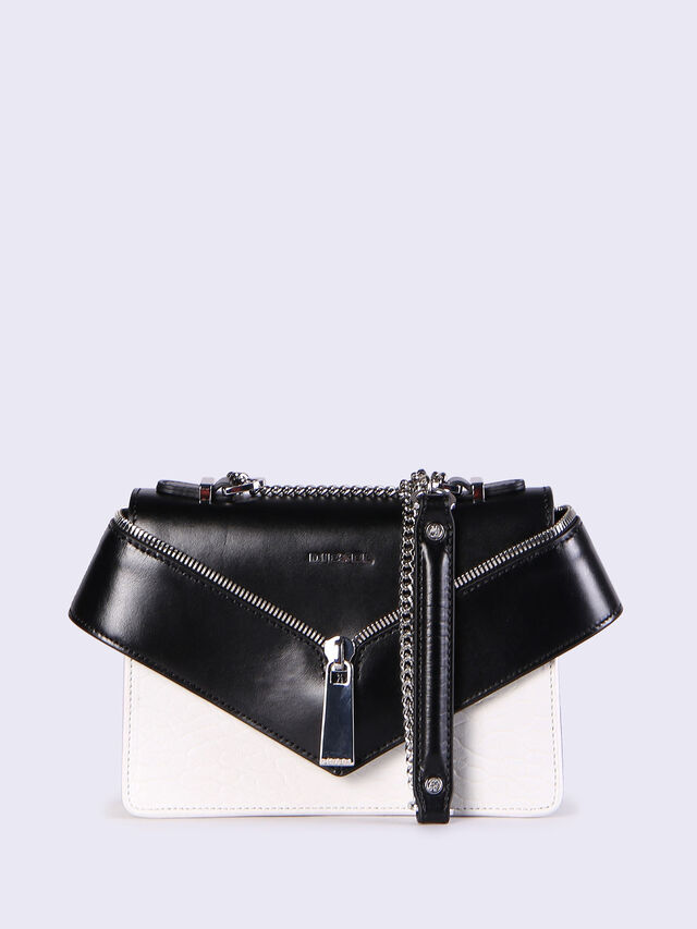Diesel - LE-XS MISHA II, White/Black - Crossbody Bags - Image 1