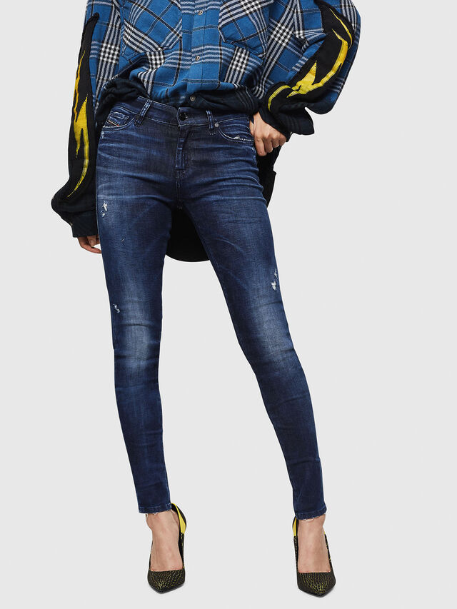 Diesel - Slandy 069IB, Dark Blue - Jeans - Image 1