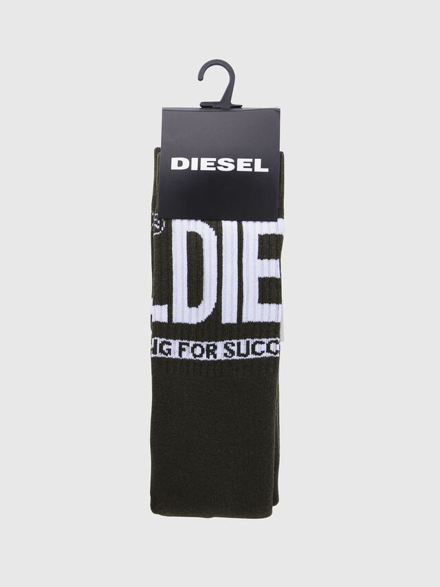 Diesel - SKM-RAY, Military Green - Socks - Image 2