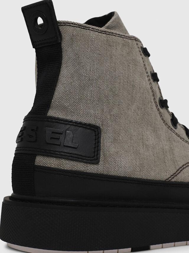 Diesel - H-CAGE DBB, Gray/Black - Boots - Image 4