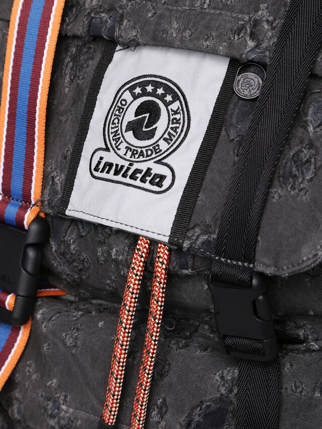 Diesel - M-INVICOLAB BACK III, Black - Backpacks - Image 5