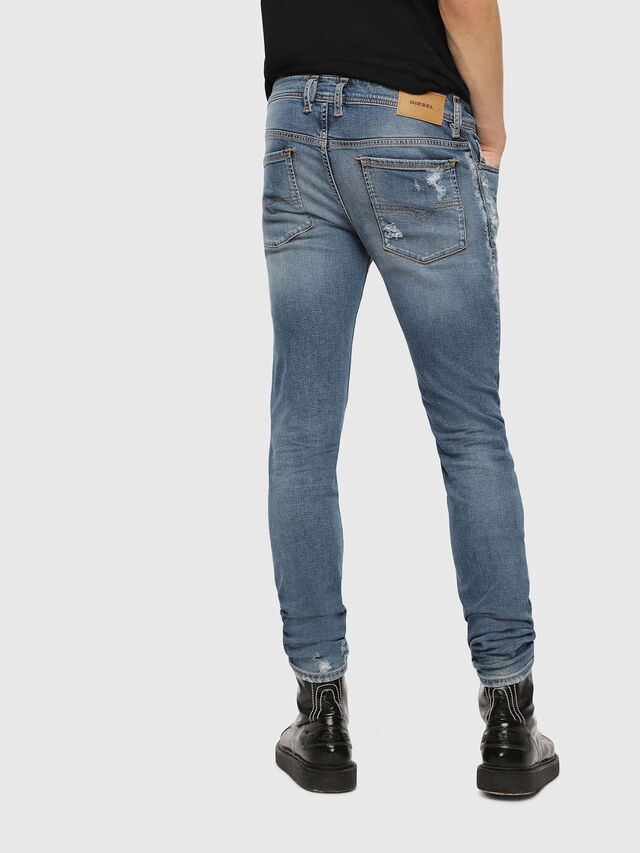 Diesel - Sleenker 085AH, Medium Blue - Jeans - Image 2