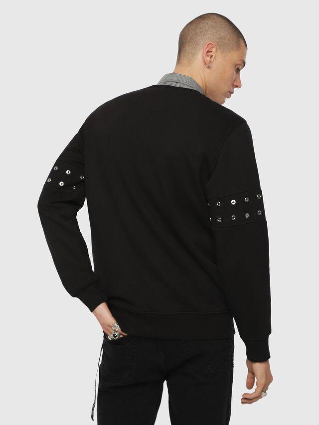Diesel - S-GIR-XMAS, Black - Sweatshirts - Image 2