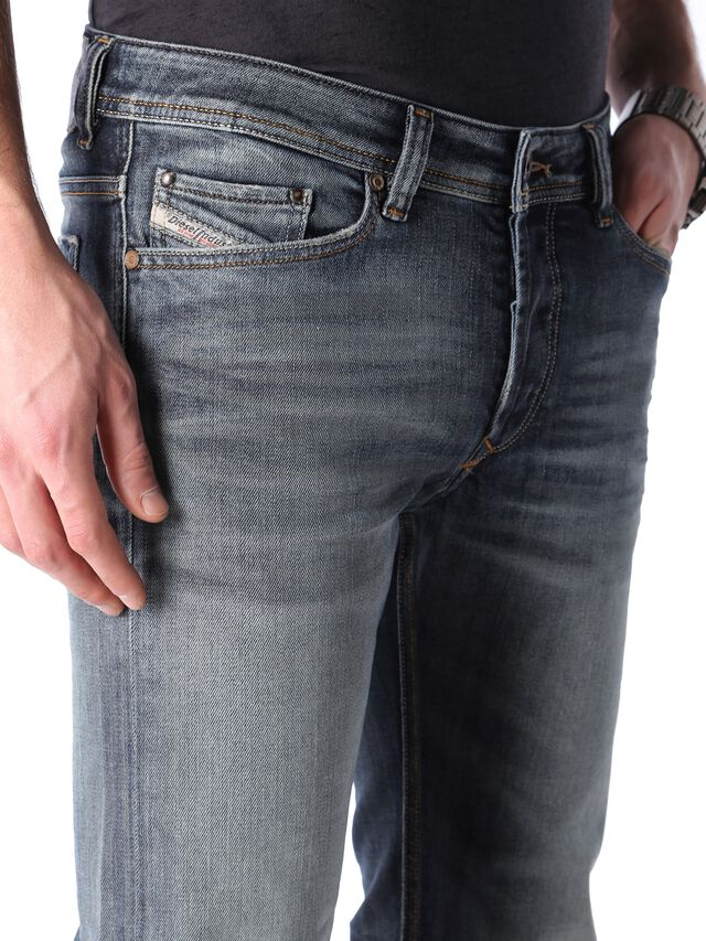 Diesel - Viker 0885K, Dark Blue - Jeans - Image 5
