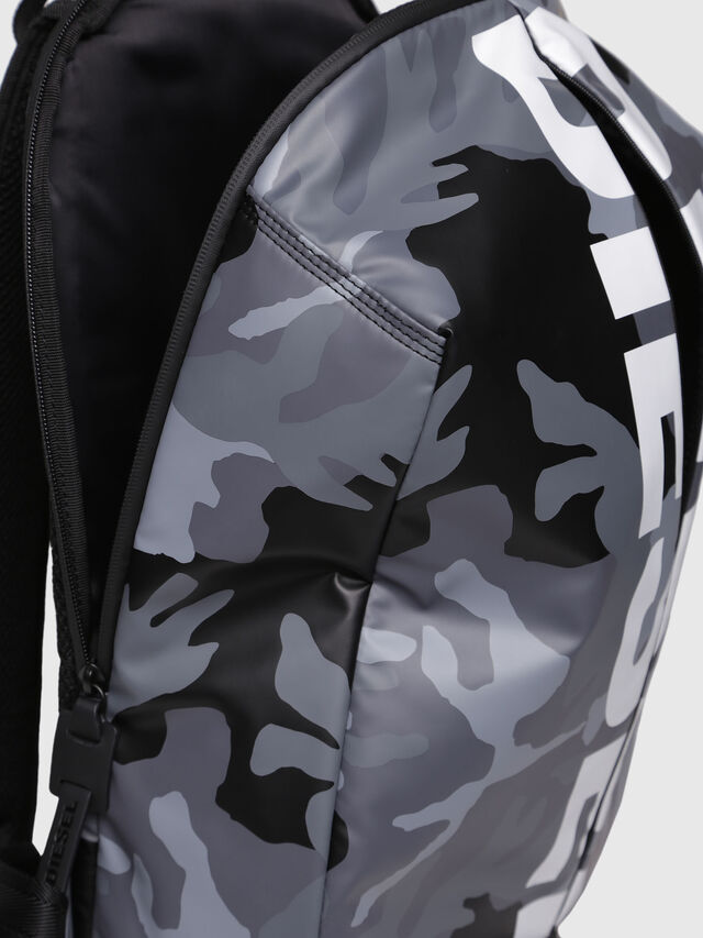 Diesel - F-BOLD BACK, Grey - Backpacks - Image 3