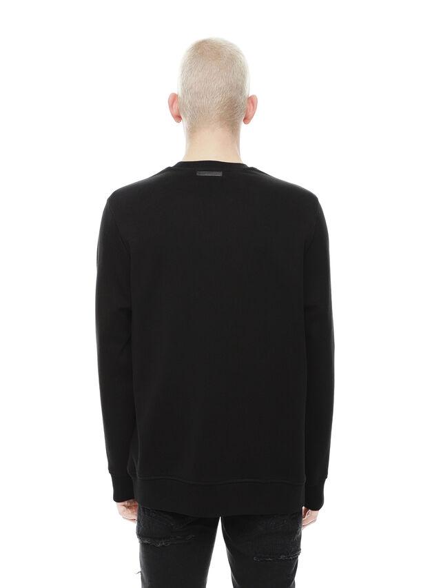 Diesel - SNEILB-PEZZABOY, Black - Sweatshirts - Image 2