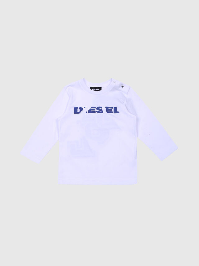 Diesel - TICEOB, White - T-shirts and Tops - Image 1