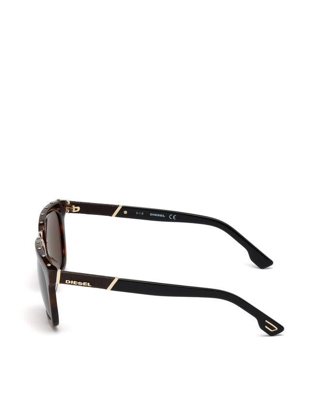 Diesel - DL0212, Brown - Sunglasses - Image 3