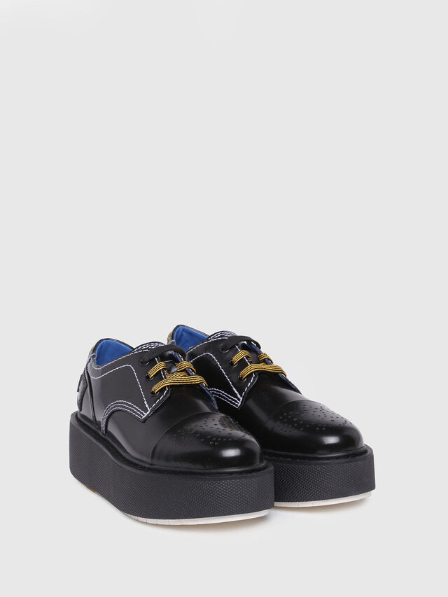 Diesel - D-CAGE LC, Bright Black - Flats - Image 2