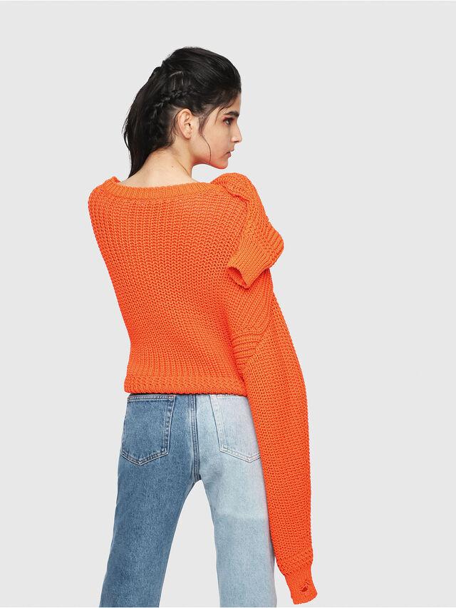 Diesel - M-BABI, Orange - Sweaters - Image 2
