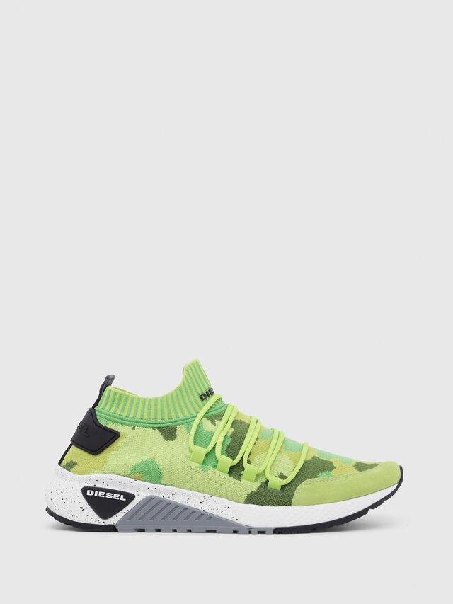 Diesel - S-KB SL, Green Fluo - Sneakers - Image 1
