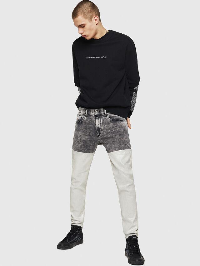 Diesel - D-Strukt 069GK, Black/Dark Grey - Jeans - Image 6