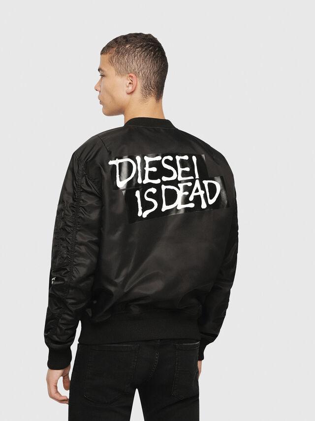 Diesel - HC-J-SOULY-A, Black - Jackets - Image 4