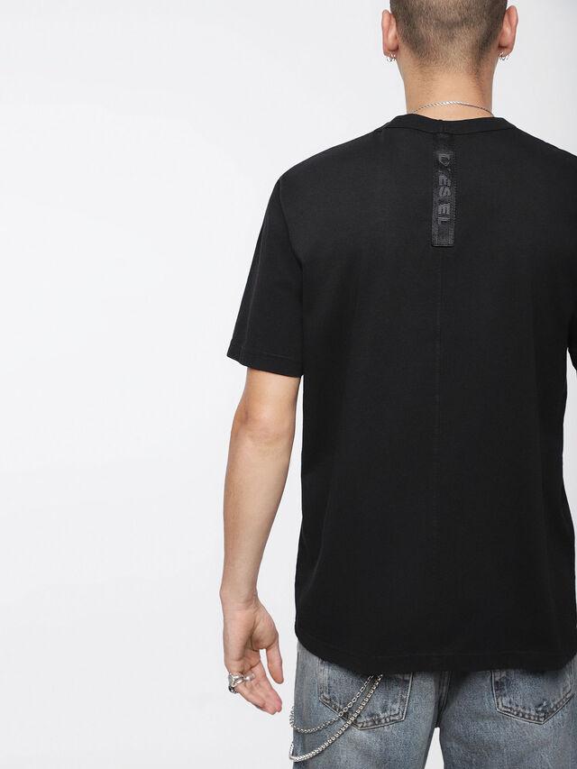 Diesel - T-WALLET, Black - T-Shirts - Image 2