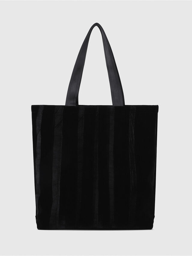 Diesel - F-THISBAG SHOPPER NS, Black - Shopping and Shoulder Bags - Image 2