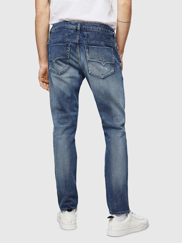 Diesel - D-Bazer 0870H, Medium Blue - Jeans - Image 2