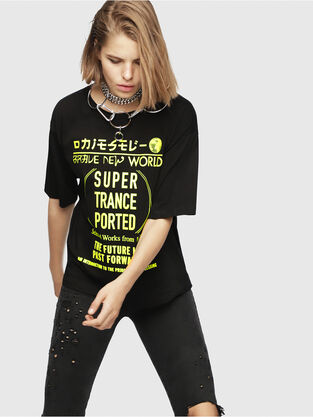 8d85dfaba1 Womens T-shirts and Tops | Diesel Online Store