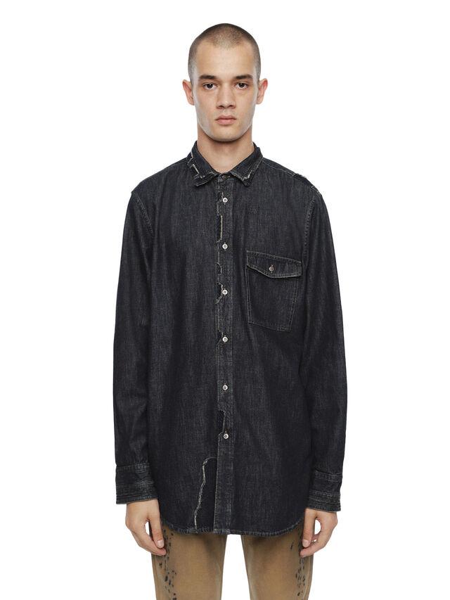 Diesel - SEROI-DEN, Dark Blue - Shirts - Image 1