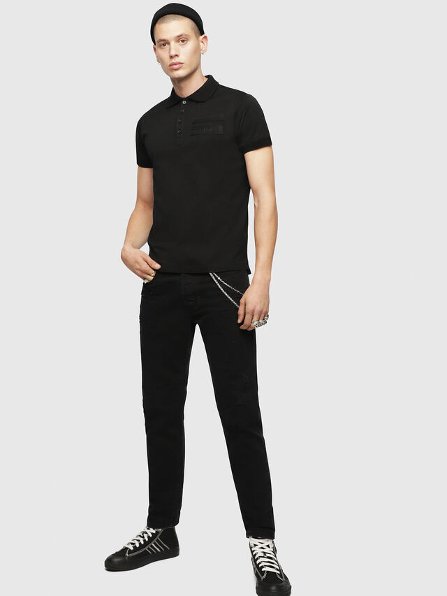 Diesel - T-MIKIO, Black - Polos - Image 4