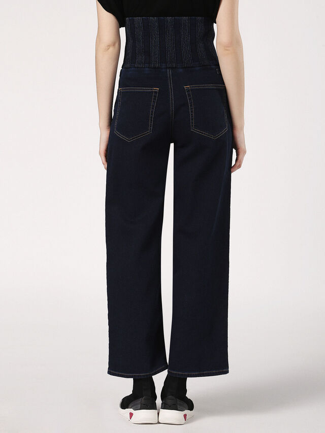 Diesel - Phyl JoggJeans 0689Y, Dark Blue - Jeans - Image 3