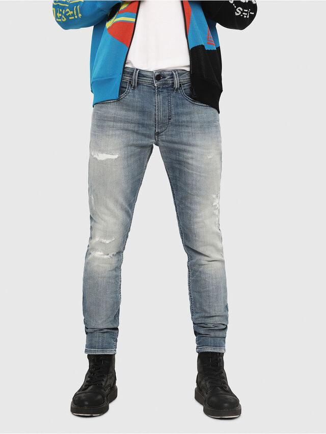 Diesel - Thommer JoggJeans 8880T, Medium Blue - Jeans - Image 1