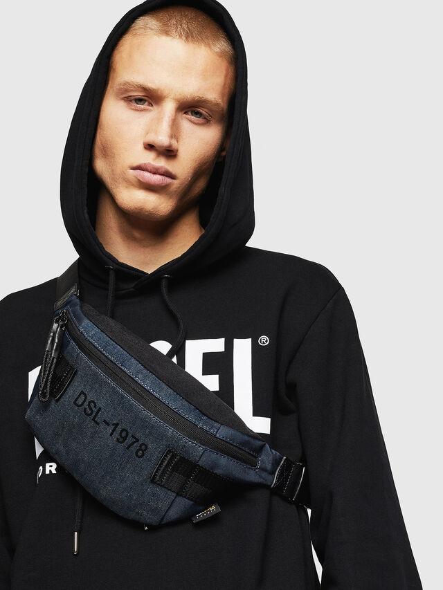 Diesel - FELTRE, Dark Blue - Belt bags - Image 6