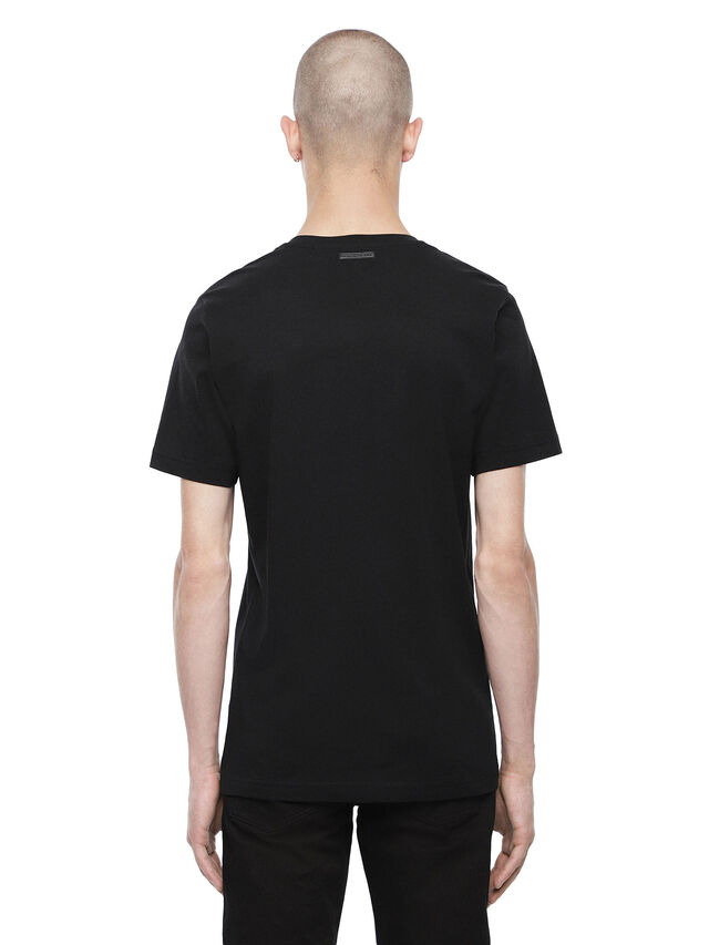 Diesel - TY-M6, Black - T-Shirts - Image 2