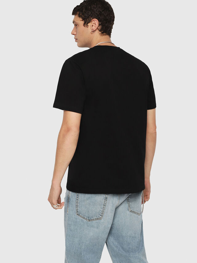 Diesel - T-JUST-DIE, Black - T-Shirts - Image 2