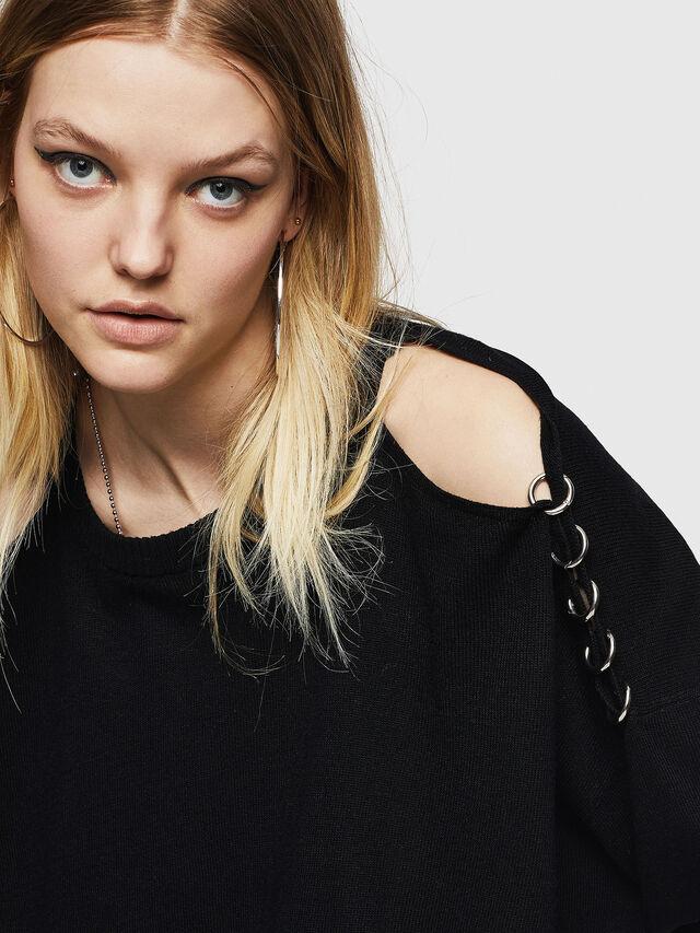 Diesel - M-NETTY, Black - Sweaters - Image 3