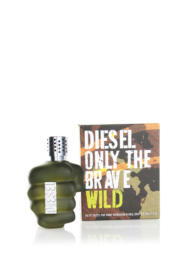 Diesel - ONLY THE BRAVE WILD 50ML, Green - Only The Brave - Image 3