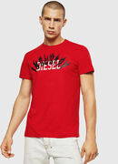 T-DIEGO-A10, Fire Red - T-Shirts
