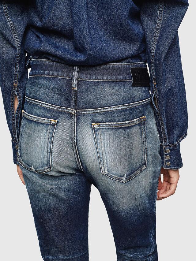 Diesel - Fayza 0092I, Medium Blue - Jeans - Image 5