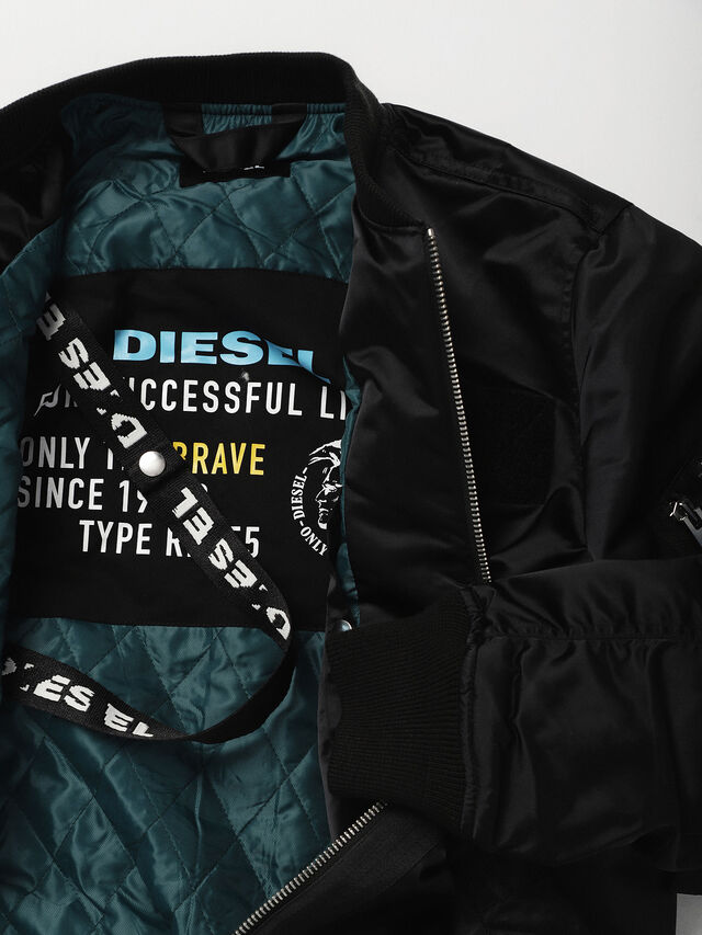 Diesel - G-SOULY-FL, Black - Jackets - Image 5