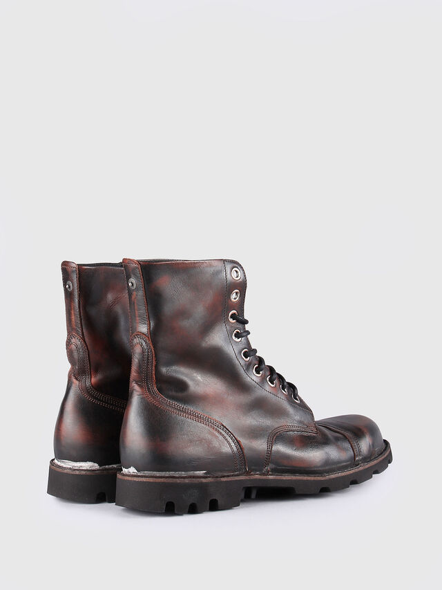 Diesel - HARDKOR, Brown Leather - Boots - Image 3