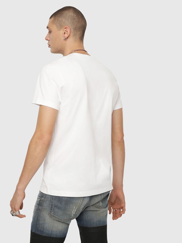 Diesel - T-DIEGO-YH, White - T-Shirts - Image 2