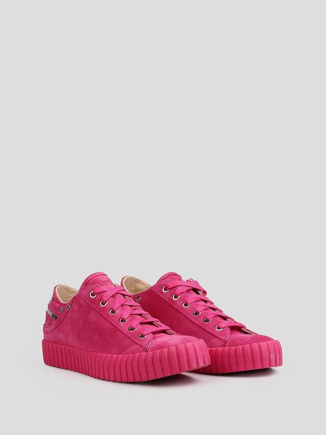 Diesel - S-EXPOSURE CLC W, Hot pink - Sneakers - Image 3