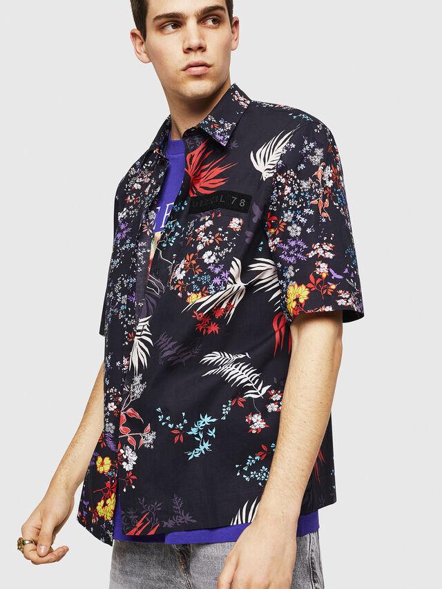 Diesel - S-FRY-FLOW, Multicolor/Black - Shirts - Image 1