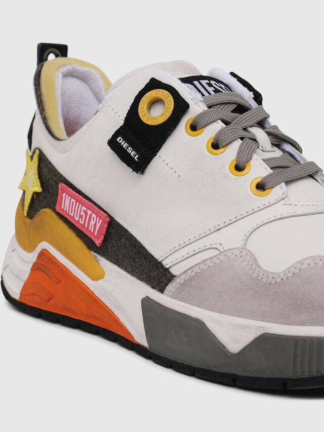 Diesel - S-BRENTHA LC VELCRO, White - Sneakers - Image 5