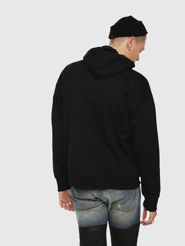 Diesel - S-DIVISION, Black - Sweatshirts - Image 2
