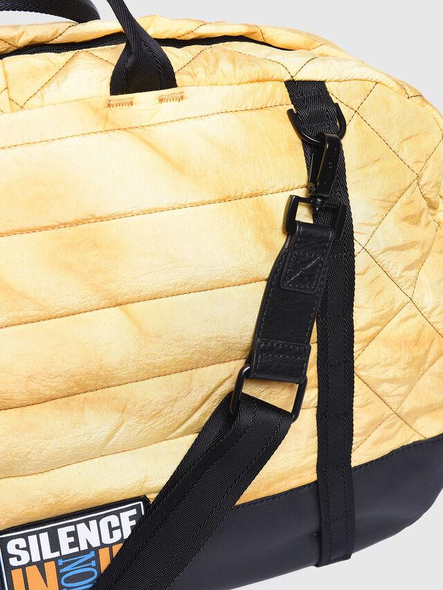 Diesel - F-HEYODA DUFFLE, Yellow - Travel Bags - Image 5